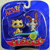 Littlest Pet Shop Pet Pairs: Bunny & Cat by Hasbro [並行輸入品]