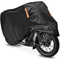 バイクカバー バイク車体カバー バイク中型 3L 原付 防水耐熱超撥水 丈夫な厚手生地(245*95*125cm)