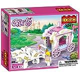COGOおもちゃ 馬車パレード プリンセス・キャッスル シリーズブロック 女の子向け 98PCS CG3267