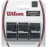 Wilson Ultra Wrap Tennis Overgrip (3-Pack), Black