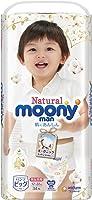 Natural moony man 内裤 大号 (12~22kg)[无添加有机棉尿裤], , ,