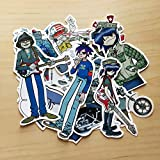 Blur Band Stickers 10 Pcs Cute Funny Waterproof Stickers Decals for Children,Teens and Girls,Unique Durable Aesthetic Trendy