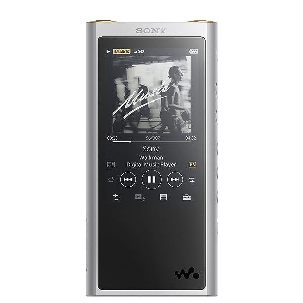 ソニー SONY ウォークマン ZXシリーズ 64GB NW-ZX300 : ハイレゾ/Bluetooth/microSD/Φ4.4mmバランス接続対応 最大26時間連続再生 2017年モデル シルバー NW-ZX300 S