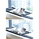 Cat Perch Cat Window Perch Cat Window Hammock Bed Cat Window Seat Kitty Window Sunny Seat Durable Big Pet Perch with Upgraded
