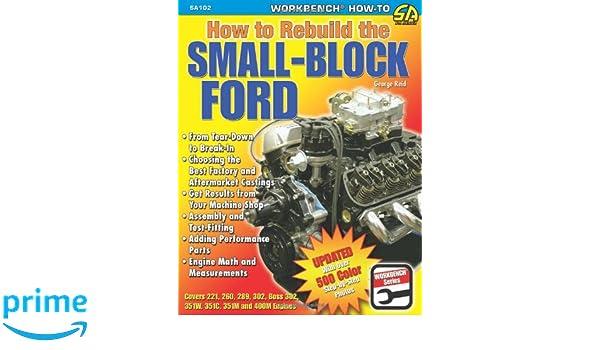 simetriaoptica.com FORD 289 V8 ENGINE REBUILD MANUAL Auto Parts ...