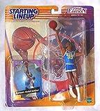 KAREEM ABDUL-JABBAR / UCLA BRUINS 1998 Edition エディション College Basketball バスケットボール Starting Lineup & Exclusive 限定 Collector Trading Card * NBA *