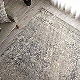 トルコ製 アンティーク風 ウィルトン織 ラグ カーペット ソフィア 133x190cm アイボリー 1.5畳 床暖房 ホットカーペット対応