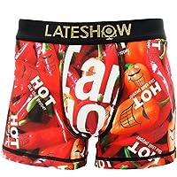 LATESHOW (レイトショー) メンズ ボクサーパンツ dwearステッカー入り 吸水速乾BODY 特許製法の消臭効果 ブランド 男性 下着 クマ 誕生日 プレゼント ボクサー