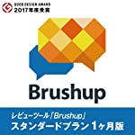 レビューツール Brushup スタンダードプラン | 1か月プラン | サブスクリプション(定期更新)