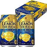 レモン・ザ・リッチ 濃い味レモン 350ml ×24缶