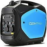 Gentrax Inverter Generator - 2.2Kw Max, 2.0Kw Rated, Sine Wave, Petrol - Electric Start