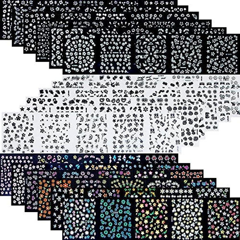動詞任意痴漢90枚 ネイルアートシール ミニ ネイル 用 可愛い マニキュア ネイルステッカー