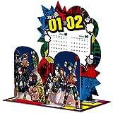 『僕のヒーローアカデミア』コミックカレンダー2017 卓上ジオラマ ([カレンダー])