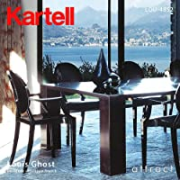 Kartell カルテル Louis Ghost ルイ ゴースト チェア 椅子 LOU-4852 デザイナー:フィリップ・スタルク ホワイト(不透明)