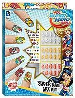DC Superhero Girls Super Nail Art Kit 【You&Me】 [並行輸入品]