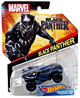 Hot Wheels Marvel Character Car Black Panther (Black Panther Movie) Die-Cast Vehicle [並行輸入品]