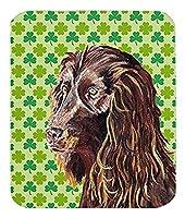 Caroline's Treasures Boykin Spaniel St Patrick's Irish Mouse Pad/Hot Pad/Trivet (SC9574MP) [並行輸入品]