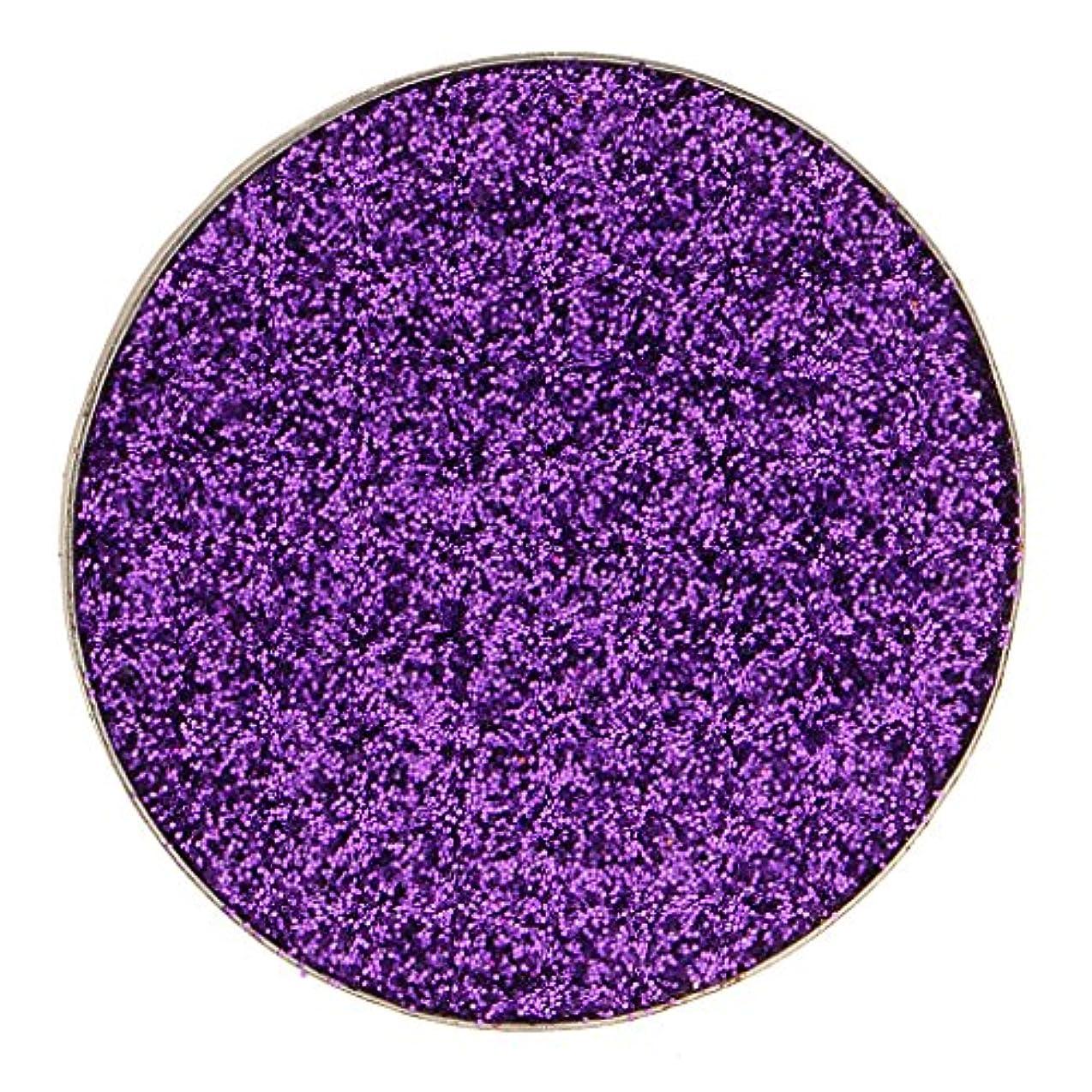 とても多くの有能なまさにKesoto ダイヤモンド キラキラ シマー メイクアップ アイシャドウ 顔料 長持ち 滑らか 全5色 - 紫