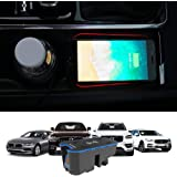Kucok Car Wireless Charger Mount fit for Volvo XC90,XC60,S90L,V90 2017 2018 2019, QC 3.0 Fast Charging Compatible with iPhone