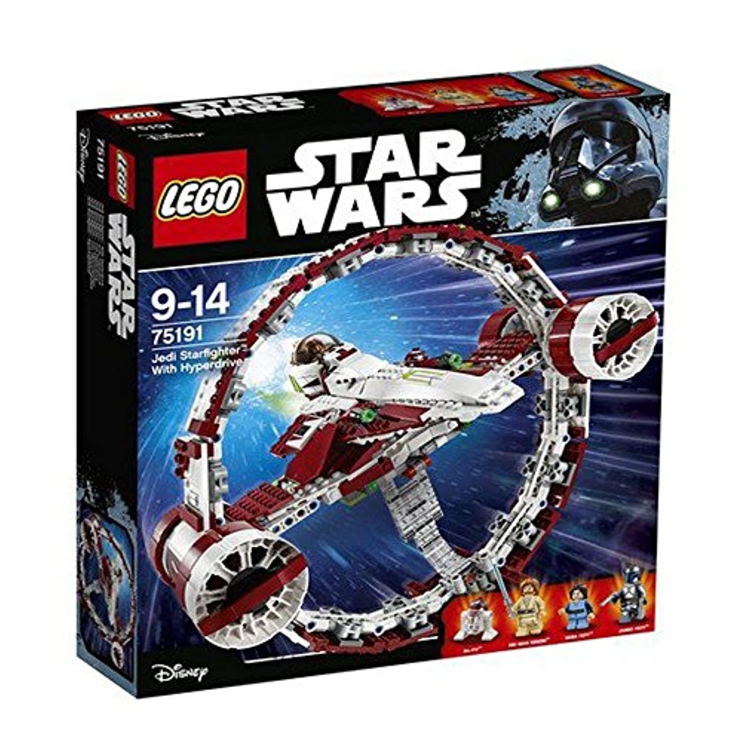 Lego 75191 Jedi Starfighter With Hyperdrive ジェダイスターファイターとハイパードライブ[並行輸入品]