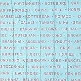 (ハンメロ)HANMEROリビング 部屋 ふすま diy リフォーム用おしゃれな木目壁紙 のりなし 地中海風 はがせる フリース 1ロール(53cm×10m)ブルー