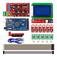 CNC 3D プリンタ キット Arduino Mega 2560 R3 + RAMPS 1.4 Controller + LCD 12864 Stepper ドライバ [並行輸入品]