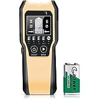 FOLAI 下地探し 下地センサー 壁うらセンサー デジタル探知機 5in1 一台三役 高精度 金属 AC電源 木材探知…