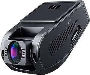AUKEY ドライブレコーダー ダッシュカム 1080P FHD 170°広角 Gセンサー搭載 LED信号対策済み 常時録画 動き検知 緊急録画 タイムラプス 2年保証 隠れ式 DR02