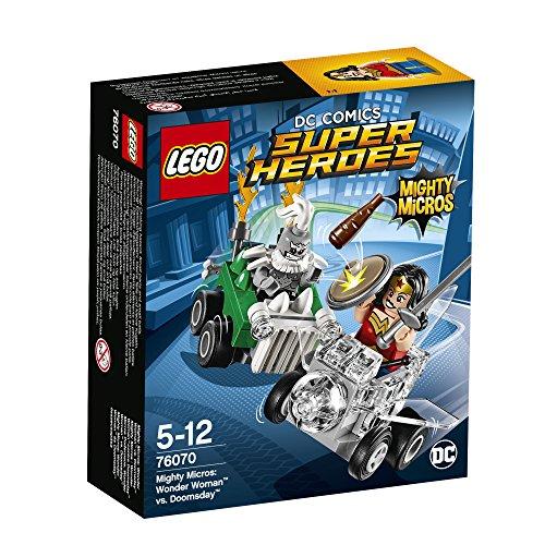 [해외] 레고(LEGO)슈퍼히어로즈 마이 T 마이크로 포스:원더 우먼 VS 둠스데이 76070-76070 (2017-02-03)