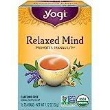 Yogi Tea - Relaxed Mind Tea with Organic Sage - 16 Tea Bags Formerly Meditative Time