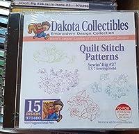 Dakota Collectiblesキルトステッチパターン