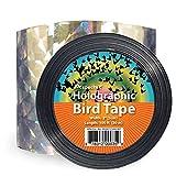 VisualScare 防鳥ホログラムテープ【3Dホログラフィック効果で害鳥を寄せつけない・北米農業生産者から幅広い支持を受ける製品】粘着面無し・大きめの幅 5cm × 30m