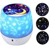 Kids Night Light Star Projector with 360 Degree Rotation night lighting lamp for Bedroom Best Slippers for Girls Boys