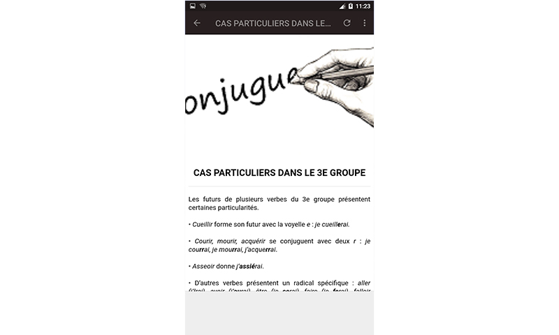 Amazon Co Jp Les Regles De La Conjugaison F Android ¢プリストア