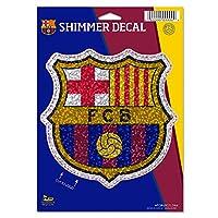 "FCバルセロナShimmer Decal 5"" x 7"""