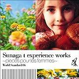 WORLD STANDARD.06 Sunaga t experience works-pieces pour les femmes-