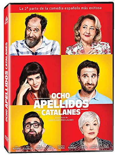 Ocho Apellidos Catalanes DVD Region 1 / 4 (Solo Espanol / No English Options)
