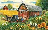 Country Paradise - 300 Piece Jigsaw Puzzle By SunsOut by SunsOut