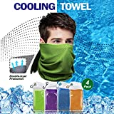 Cooling Towel for Neck Runners,Workout Towel Gym for Women/Men,Soft Breathable Instant Cooling Relief for Sports, Tennis Gift,Hot Yoga, Travel, Camping