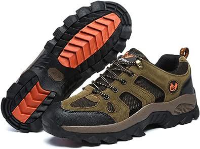 [ziitop] ハイキングシューズ メンズ レディース 登山靴 アウトドア 防滑 耐摩耗性 通気性 防水 衝突 (23.0cm~28.5cm)