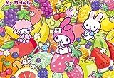60ピース 子供向けパズル マイメロディのフルーツパーティー  【チャイルドパズル】