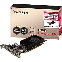 玄人志向 AMD Radeon R7 250 搭載 グラフィックボード GDDR5 2GB シングルファンモデル RD…