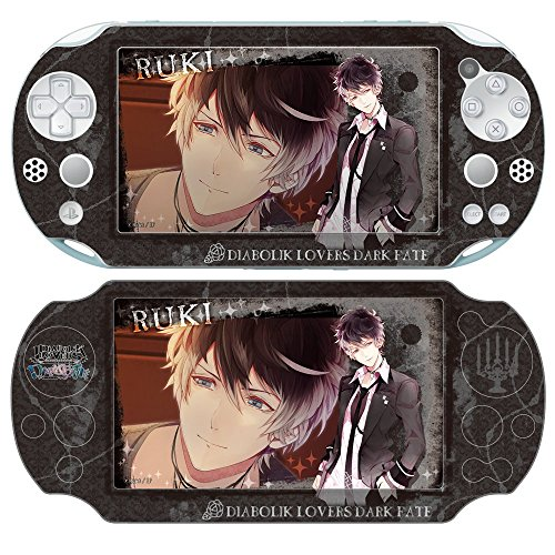 デザスキン「DIABOLIK LOVERS DARK FATE」PS Vita (PCH-2000) スキンシール デザイン7 ライセンスエージェント