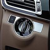 【9 MOON】ベンツ A W176 B W246 C W204 E W212 GLA GLK X204 GL ML 専用 内装 ヘッドライト調整ボタンカバー