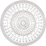 ウチダ 全円分度器 12cm 1-822-0000