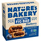Nature's Bakery Gluten Free Blueberry Fig Bar, 56.7g (Pack of 6)
