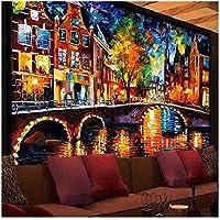 """大規模な絵画-写真壁画-カスタムサイズの壁紙-リビングルームの壁のアートの装飾-Wallcoverings-300(W)x200cm(H)(9'2""""x5'11"""")ft"""
