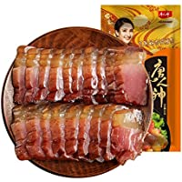 腊肉 肉の薫製 ベーコン 湖南特产腊肉 唐人神 熟食腊味 肉干肉脯 农家咸肉 烟熏咸腊肉腊肠500g