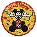ディズニー ミッキーマウス 90 YEARS OF MUGIC ワッペン スタンダード APDSY3796