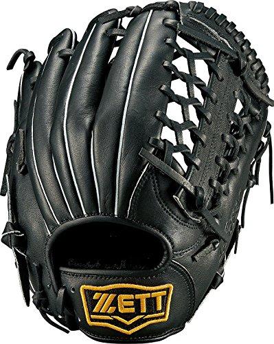 ZETT(ゼット) ソフトボール オールラウンド グラブ(グローブ) ライテックス (右投げ用) BSGB3810 ブラック